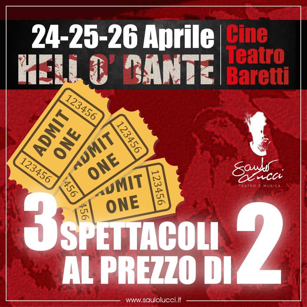 Hell O' Dante Cineteatro Baretti PROMO