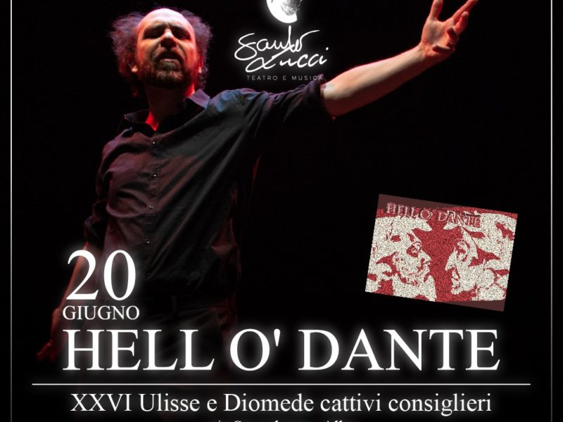 Merenda Sinoira + Saulo Lucci narra Dante -Ulisse-