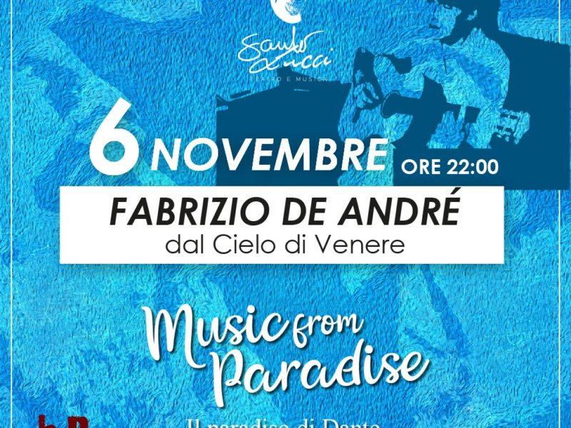 Fabrizio De Andrè dal Cielo di Venere
