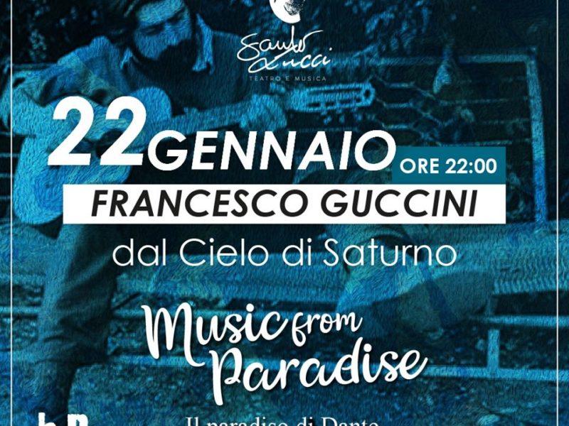 Francesco Guccini il Cielo di Saturno