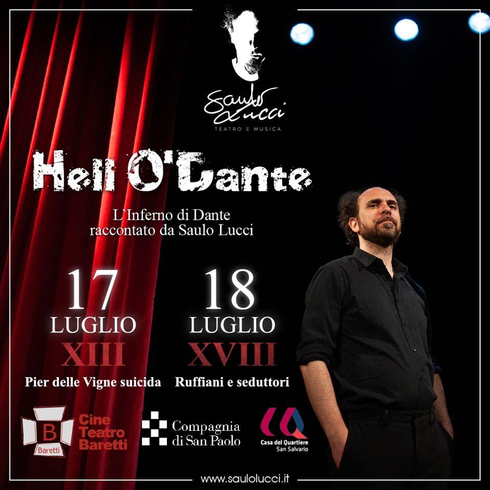 Casa del Quartiere Torino: Hell O' Dante in scena