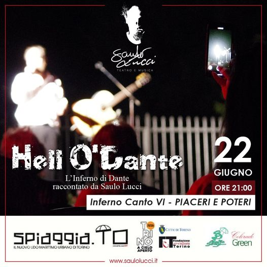 Hell O' Dante in in spiaggia.TO
