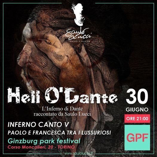 Vi aspetto Mercoledì 30 Giugno Presso i Giardini Ginzburg